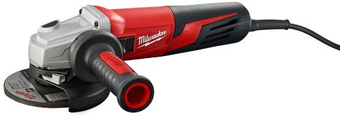 (Milwaukee Electric Tool 6117-33D - Angle Grinder - 120 V, Corded, 11000 rpm, 5 in Max Disc Size, 13 A)