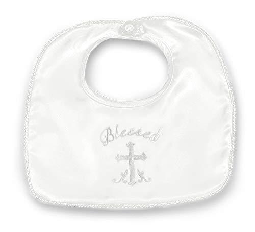 Elegant Baby Christening Bib - Bearington Baby Blessings Boy's Christening and Baptism Bib, 10