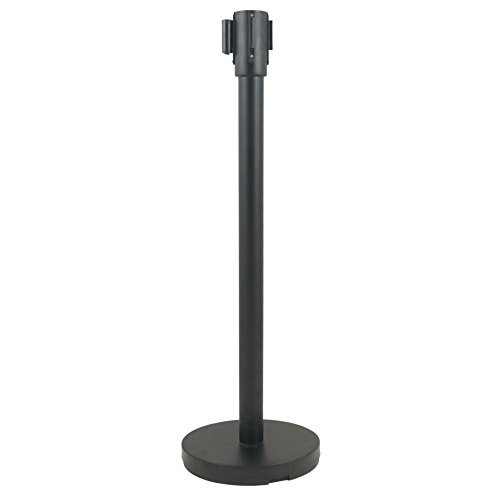 Update International RS-36BK Black Stanchion with Pole and Base by Update International