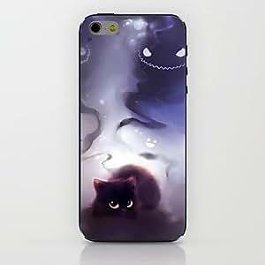WQQ Black Kitten Pattern hard Case for iPhone 6