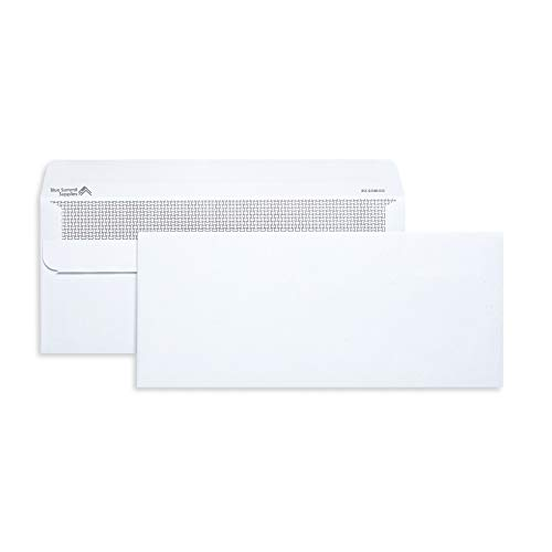 Blue Summit Supplies 500 Number 10 Envelopes Self Seal - #10 Business Envelopes Letter Size - Security Tint - Flip and Seal Flap - 4 1/8 x 9 1/2-500 Count (Flap Seal Envelopes)