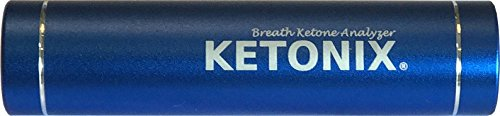 KETONIX BLUETOOTH connection to your Smart Device AND BATTERY PACK. Reusable Breath Ketone Level Analyzer with Painfree, not strips required, one time fee by KETONIX (Image #2)