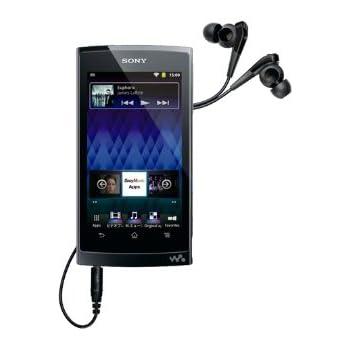 SONY Android WALKMAN Z-1000 Series 64GB | NW-Z1070-B Black (Japan Model)