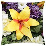 07 Bouquet (Bouquet of flowers 07 Purple - Throw Pillow Cover Case (18)