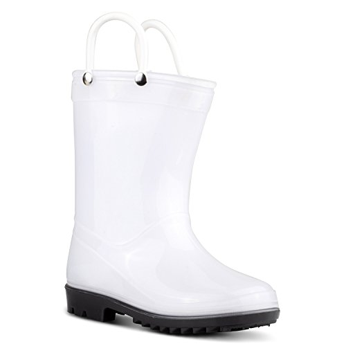 Price comparison product image ZOOGS Children's Rain Boots with Handles, Little Kids & Toddlers, Boys & Girls