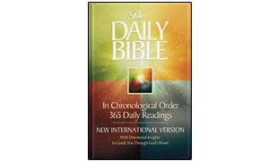 THE DAILY BIBLE in Chronological Order 365 Daily Readings - New International Version with Devotional Insights to Guide You Through God's Word - Large Print Edition
