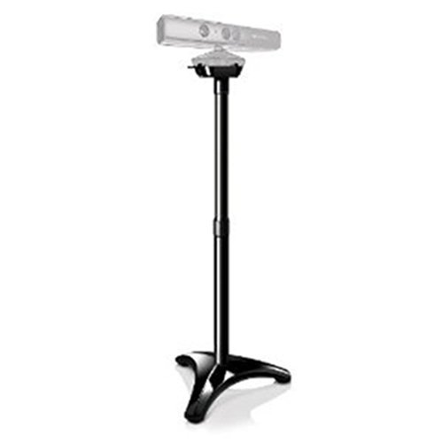 TNP Xbox 360 Sensor Floor Stand Mounting - Floor Clip Mount Dock Stand Holder Bracket Base for Microsoft Xbox 360 Kinect Sensor Camera (Black) [Xbox 360]
