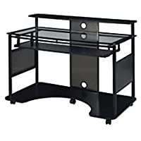Z-Line Designs Mobile Workstation Desk (Black)