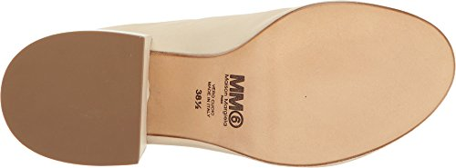 Beige Womens Leather Mule Margiela MM6 Maison nvAqwY7Y
