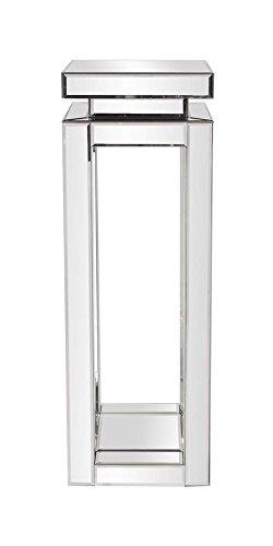 Amazon Com Howard Elliott 11186 Mirrored Pedestal Table
