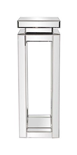 Howard Elliott 11186 Mirrored Pedestal Table, Large