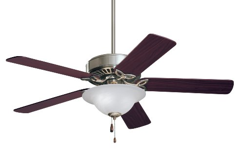Emerson CF713BS Pro Series Energy Star 50-inch Dual Mount Ceiling Fan with Reversible Blades, 5-Blade Ceiling Fan with LED (Series Mounting Kit Ceiling Mount)