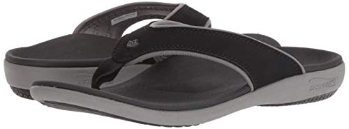 Spenco Women's Yumi Plus Sandal, Onyx 6 Wide US by Spenco (Image #6)