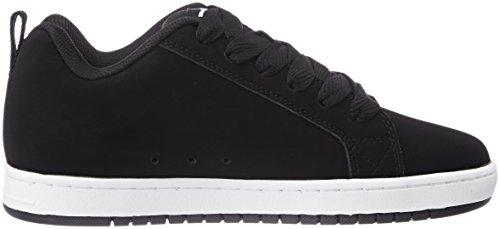 noir Dc Court Sneakers Hommes Graffik Noir Shoes Pour S0xqvAwx