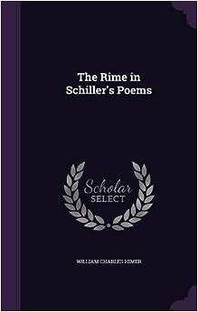 The Rime in Schiller's Poems