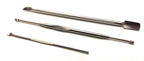 Vape Pipe Cleaning Tools 3 Different Types, Stainless Steel for Vape PAX & Kandy, Micro DX