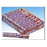 Mentos Chewy Mints Cinnamon - box of 15 rolls, 24 boxes per case