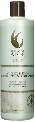 Key West Aloe Aloethera Moisturizing Shampoo, 15.5 oz (Aloe Vera 80 Shampoo)