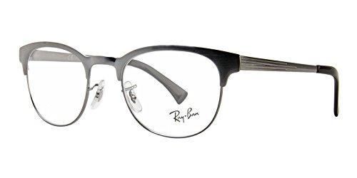 Eyeglasses Ray-Ban Optical RX 6317 2553 GUNMETAL ON TOP BRUSHED - Ban 6317 Ray