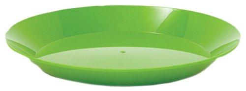 """GSI Outdoors 77263 Cascadian Plate, Green, 9.7"""" plate"""