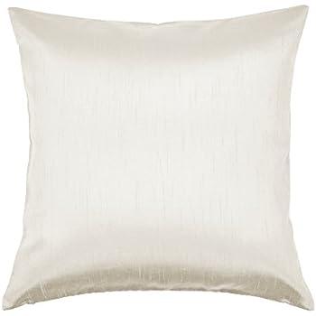 Amazon Com Aiking Home Solid Faux Silk Decorative Pillow