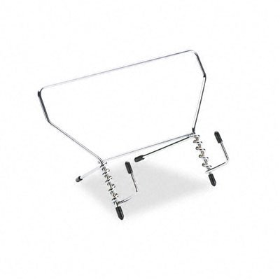 Fellowes Wire Catalog Rack (NEW - Wire Study Stand, Metal, 9 1/2 x 6 x 5 1/2, Silver -)