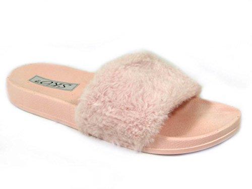 SKOS Damen Zehentrenner SKOS Damen Pink F1 0qz55P
