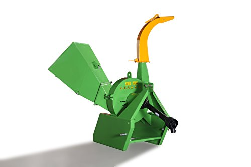 Victory Tractor Implements Wood Chipper Wood Shredder (Green) (Tractor Chipper)