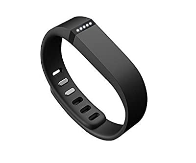 Best_Express Set 1pc Small S Replacement Band with Clasp for Fitbit FLEX Only /No tracker/ Wireless Activity Bracelet Sport Wristband Fit Bit Flex Bracelet Sport Arm Band Armband (Black)