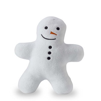 Squeaky Snowman Buddy Dog Toy
