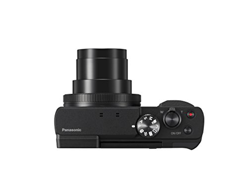 Panasonic DC-TZ91EG-K LUMIX High-End Reisezoom Kamera (Leica Objektiv, 30x opt. Zoom, 24mm Weitwinkel, Sucher, 4K)