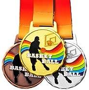 3 Piece Set Medals(Gold,Sliver,Bronze ), for Match Winner, Customizable Logo, Top 3 Awards, Professional Metal