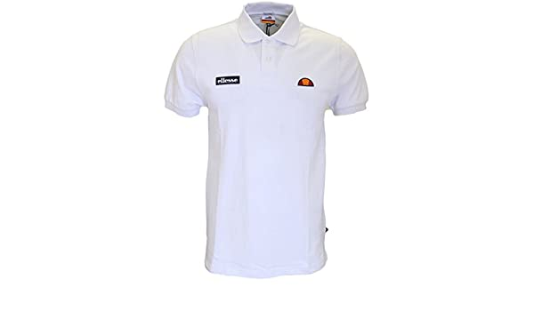 Ellesse - Polo - para Hombre Blanco Blanco X-Large: Amazon.es ...