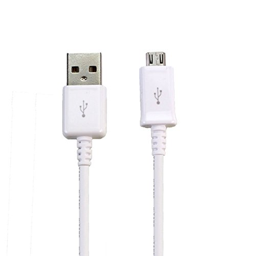 FULL Power Huawei Pillar Smartphone Charging Micro-USB Data Cable's Dual Chipset can charge up to 4.2A/4200mah speeds! (White)