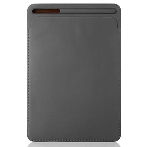 """Price comparison product image Dreamyth for Apple Pencil & iPad Pro 10.5"""" 9.7"""" Cover, PU Leather Sleeve Case Cover Pouch Skin (Gray)"""
