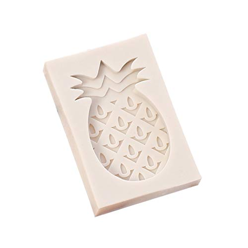 Lemoning , Pineapple Fruits Fondant Cake Silicone Molds Soap Chocolate Baking Moulds 14k Yellow Gold Mosaic