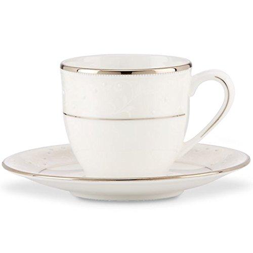 Lenox Opal Innocence Demitasse Cup & Saucer Set