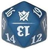 Magic the Gathering d20 Spindown Life Counter Die Khans of Tarkir Blue