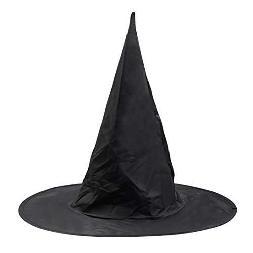 Livoty Halloween Cloak Peaked Cap Vampire Magician Costume Cape for Kids/Adult Accessories Props Toys (Cap)