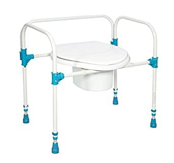 Amazon.com: Big John BJBC Bariatric Commode Chair – Stable Bedside ...