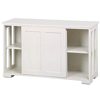 Yaheetech Sliding Door Buffet Sideboard Stackable Cabinets Kitchen Dining Room Storage Cupboard