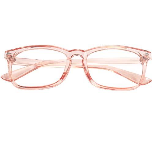 11b6f76aa5a4 Agstum Wayfarer Plain Glasses Frame Eyeglasses Clear Lens ...