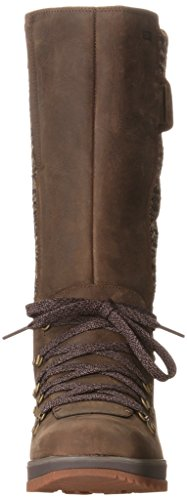 Merrell Eventyr Peak WTPF, Damen Reitstiefel Braun (Dark Earth)