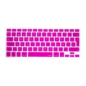 Pashay Keyboard Skin for Apple Macbook Air/Pro/Retina 13.3 quot;  amp; 15.4 quot;  Hot Pink Keyboards, Mice   Input Devices