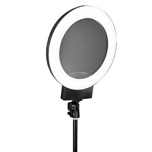 Peaceip US Ring light external 12in/31cm dimmable LED fill light 36w-5600K lighting kit with light stand - metal seat - mobile phone clip