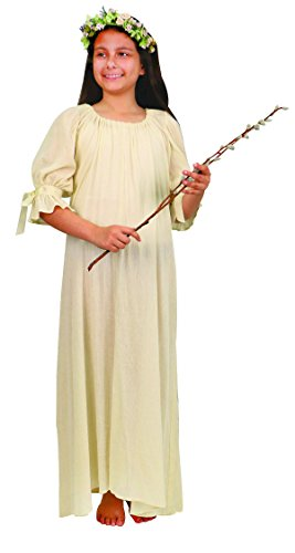 Museum Replicas Maiden Chemise For Girls Ren Faire Costume, Underdress, Nightgown