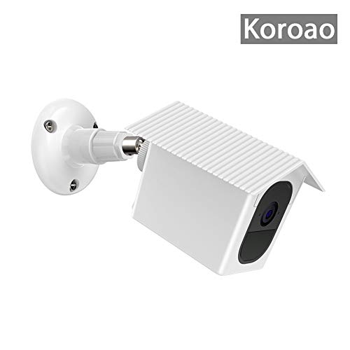 Koroao Wall Mount Bracket,Weather Proof 360 Degree Protective Adjustable Indoor and Outdoor Mount Cover Case for Arlo Pro and Arlo Pro 2 (1 Pack, White)