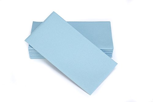 Light Blue Dinner Napkins - 4