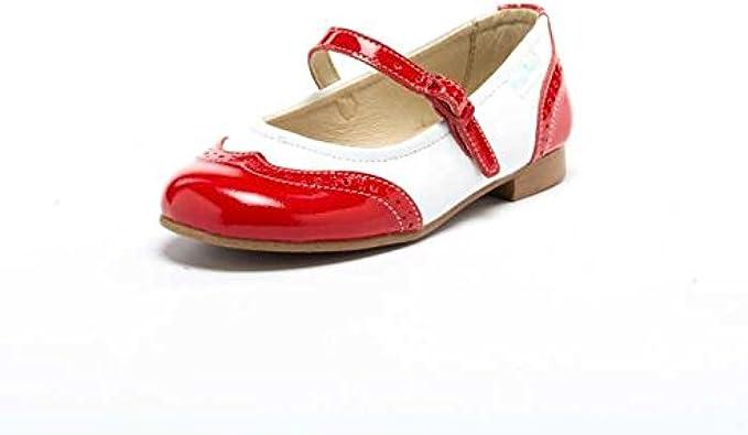 Bailarina de Piel Lets Grow 1521 Hecho en España: Amazon.es: Zapatos y complementos