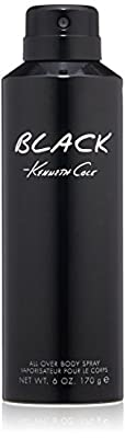 Kenneth Cole Black Body Spray, 6.0 oz.